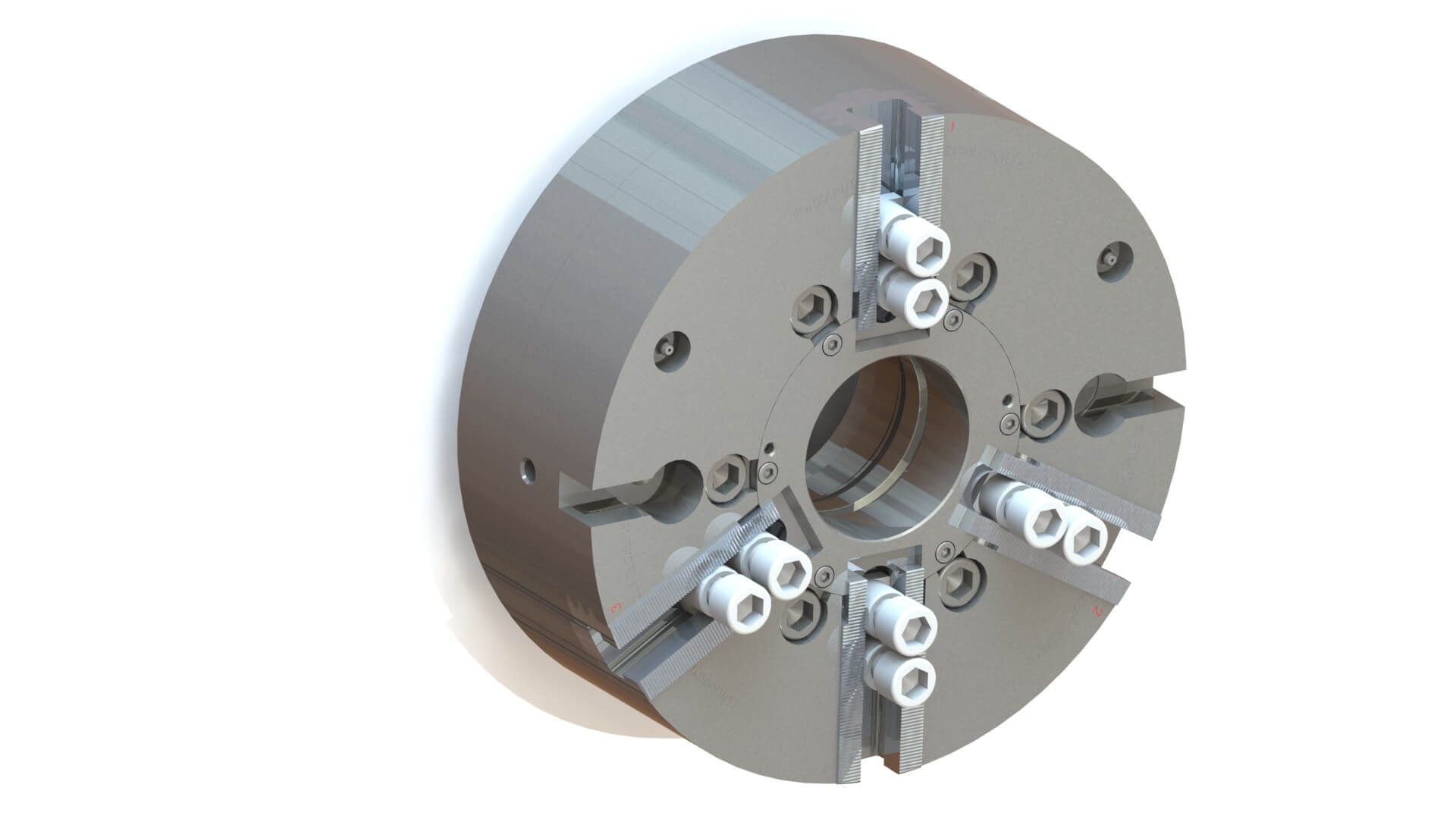 2 and 3 QLC Two and Three-Jaw Chuck side